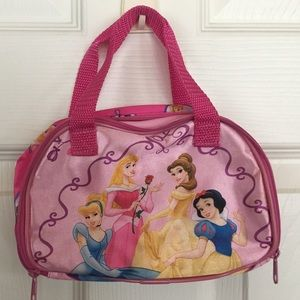 Disney Pink Princess Purse / Pouch /Carry-all